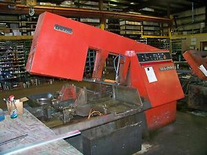 Amada 20 X 20 Ha 20 Automatic Horizontal Band Saw