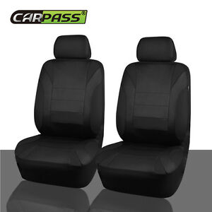 Car Pass Universal Fit For Vehicles Neoprene Waterproof 2front Car Seat Covers