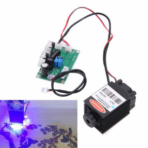Focusable High Power 2 5w 450nm Blue Laser Module W Ttl 12v Input Wood Carving