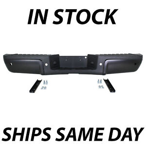New Primered Steel Rear Bumper Assembly For 2008 2014 Ford F250 F350 F450 08 14