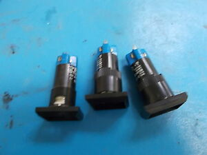 Eao Pushbutton Switch 01 121 025 Lot Of 3