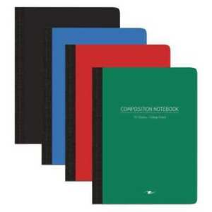 24pk Composition Books 70 Sht 9 75 x7 5 Poly Cvr College