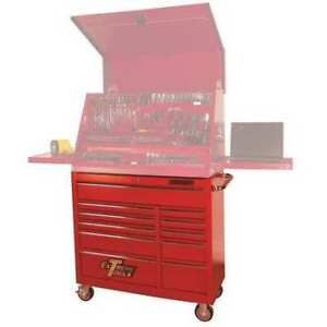 Extreme Tools Inc Pws4124rctxrd Roller Cabinet 41 11 Drawer 24 Deep