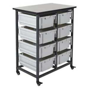 Stackable Storage Bins 8 L Luxor Mbs dr 8l