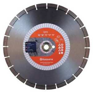 Diamond Saw Blade demolition 14 Dia Husqvarna Qh 5 14
