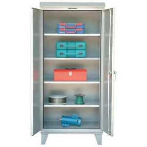Strong Hold 46 wp 244 Storage Cabinet 12 Ga 48 In W