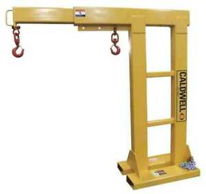 Reach Over Forklift Boom 4000 Lb Caldwell Rob 40