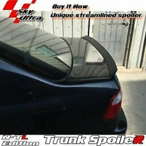 Flat Black 148 Ntl Rear Trunk Spoiler Wing For 2001 2005 Us Honda Civic 7 Sedan