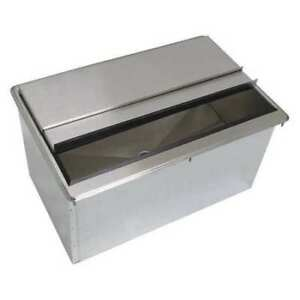 Drop in Ice Bins 50 Lb Cap 24x18 Advance Tabco D 24 ibl x