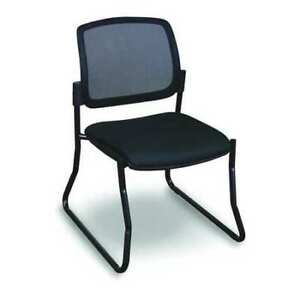 Visitor Chair black black Allegra Wmcslbb