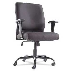 Big And Tall Mid back Chair black