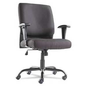 Oif 1118 Big And Tall Mid back Chair black
