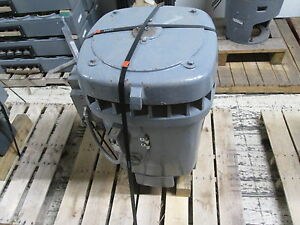 Us Motors Vertical Solid Shaft Ac Motor D 7005977 100hp 1200rpm Fr 444t Used