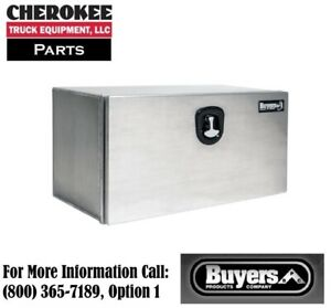Buyers Products 1706405 Xd Aluminum Underbody Toolbox 18 H X 18 D X 36 W