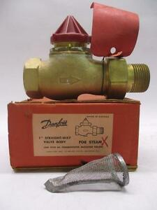 Danfoss Ra Straight Way Valve 1 For Steam Type Ra Thermostatic Radiator Valve