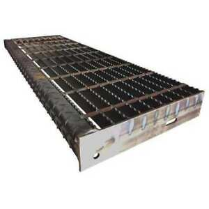 Direct Metals 21188r100 trd2 Bar Grating serrated 9 75in w X 1 0in h