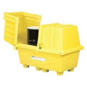 Enpac 2038 ye d Spill Containment With Drain 1200 Lb G9900362