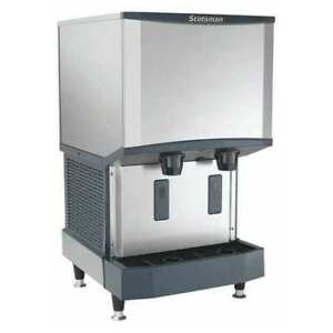 Ice Maker And Dispenser 26 Lb Storage Scotsman Hid525a 1