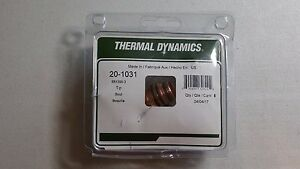 Lot Of 5 Thermal Dynamics 20 1031 100 Amp Plasma Cutter Tips 88x395 3