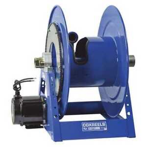 Electrical Motor Hose Reel 1 1 2in Coxreels 1185 1524 eb