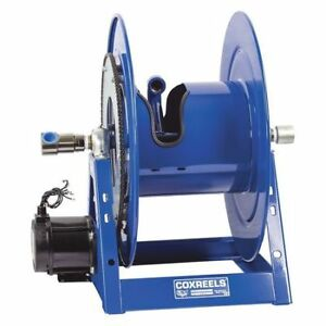 Electrical Motor Hose Reel 1in I d Coxreels 1175 6 50 eb