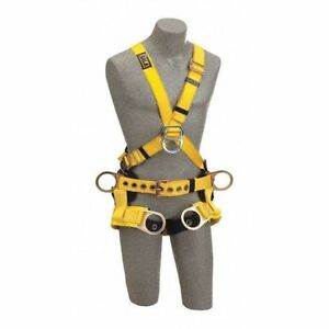 3m Dbi sala 1103350 Delta Cross over Style Tower Climbing Harness L