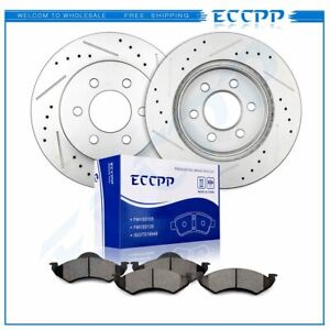 For Dodge Dakota Durango 2000 2002 Front Brake Rotors And Ceramic Pads Kit