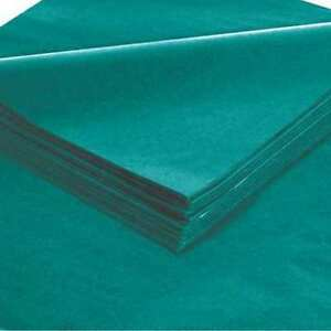 Tissue Paper gift Grade 20 x30 teal pk480 Partners Brand T2030o