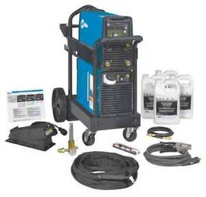 Tig Welder Dynasty 210 Series 120 To 480vac Miller Electric 951666