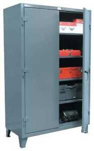 Strong Hold 56 244 Storage Cabinet 12 Ga 78 In H 60 In W