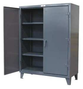 Strong Hold 46 244 Storage Cabinet 12 Ga 78 In H 48 In W