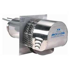 Stainless Steel Power Venter 5in Inlet Field Controls Swg 5s