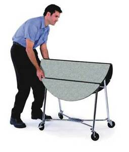 Room Service Cart fold up round Lakeside 415
