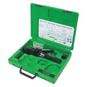 Greenlee 7804 sb Quick Draw Hydraulic Punch Driver Kit G3712838