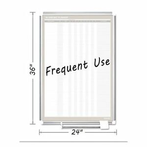 Magnetic Dry Erase Board 24 x36 white Mastervision Ga02109830