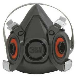 Half Face Respirator Medium black pk24 3m Ocs6200