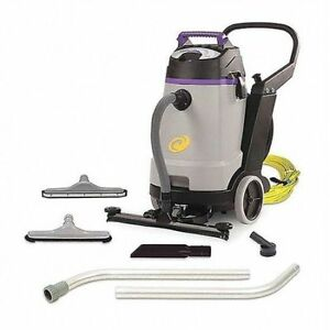Proteam 107360 Proguard 20 Wet dry Vacuum W Tool Kit Front Mount Squeegee
