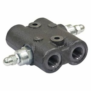 Directional Valve cross 1 2 2000psi Buyers Products Hcr050