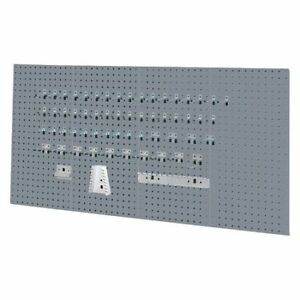 Kennedy 50004ugy Pegboard Kit gray 36 H steel 18 W