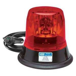 Rotating Beacon magnet Mount red Ecco 5813r mg