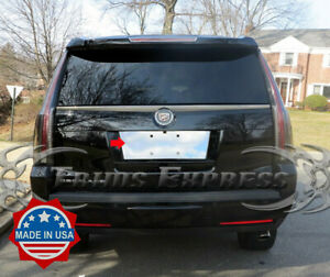2007 2014 Cadillac Escalade License Plate Trim Backdrop Bezel Accent Cover