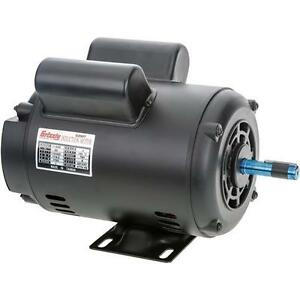 G2907 Grizzly Motor 1 1 2 Hp Single phase 1725 Rpm Open 110v 220v