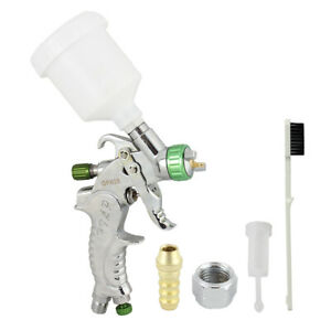 Mini Spray Gun 1 0mm Tip Basecoat Auto Car Paint Spot Repair With Plastic Cup