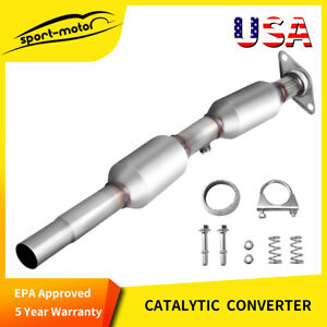 For 2004 2006 Jeep Wrangler 4 0l Catalytic Converter Dual Y pipe Epa Approved