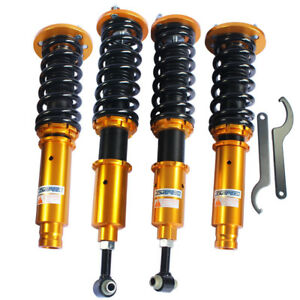 Jdmspeed Full Set Coilover Coil Suspension Spring Struts For Honda Accord 98 02