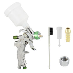 1 0mm Mini Detail Touch Up Hvlp Spray Gun Auto Car Paint Spot Repair Plastic Cup