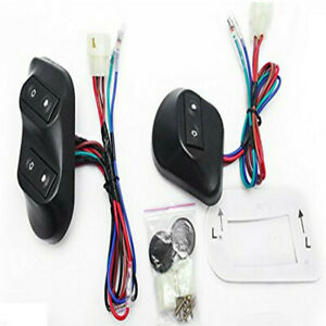 Set Universal Buttons Car Auto Power Window Switches With Holder