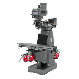 Jet 690418 Heavy duty Chrome plated Variable Speed Milling Machine Recon