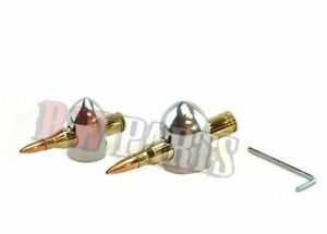 Lincoln Polished Bullet Knobs Sa 200 Sa 250 200d And All Classics Bw835 pol