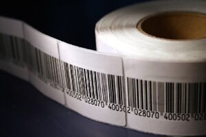 2 000 Rf Labels 33x38 Mm Size Checkpoint System Compatible Fake Barcode